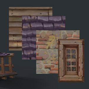 Creating Stylized Textures for Games | Ishmael Hoover