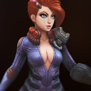 3D Hand-painted Character For Games | Marc Brunet